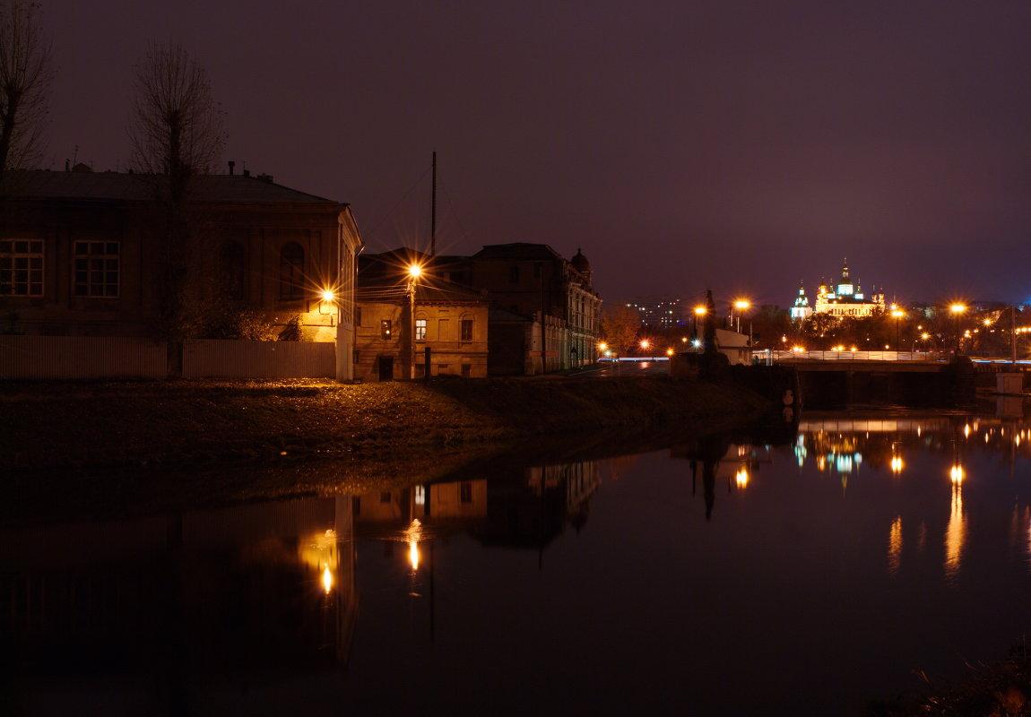 Дождливый вечер на набережной - Валентина M