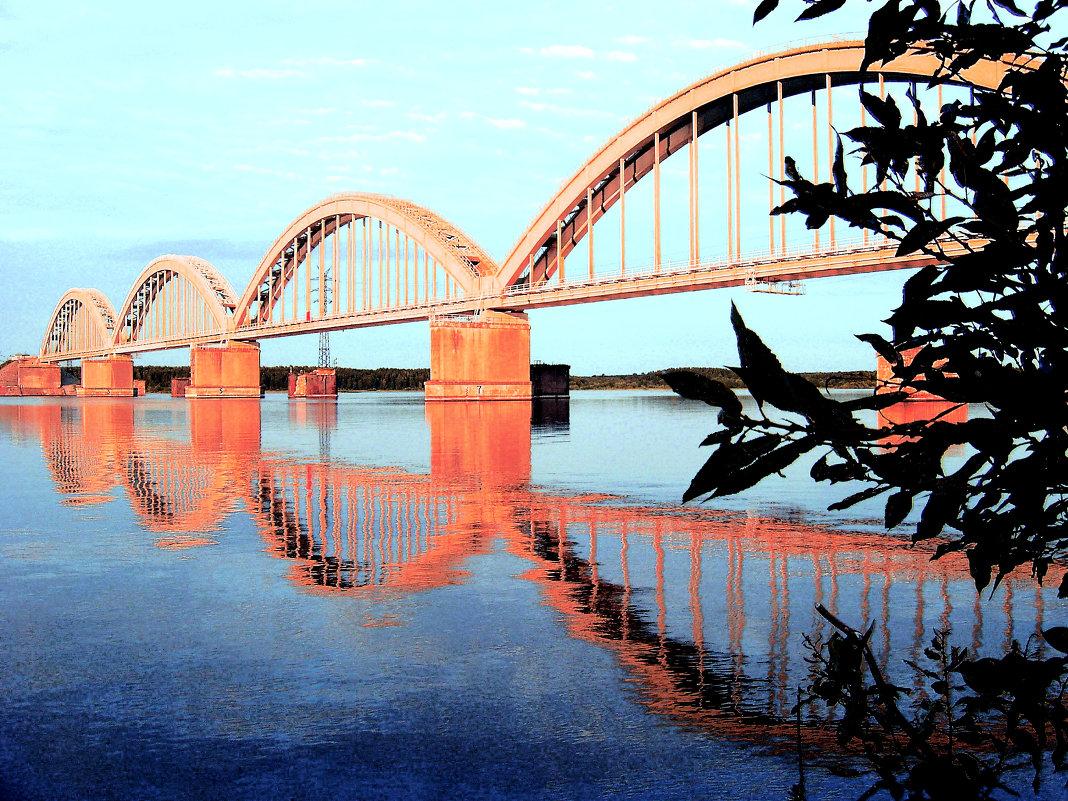 Мост через Волгу - Юлия Фалей
