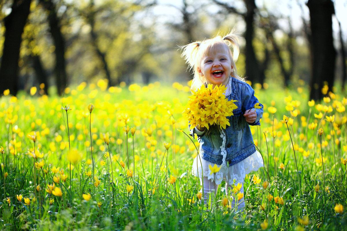 На цветочном лугу - Андрей Ильин