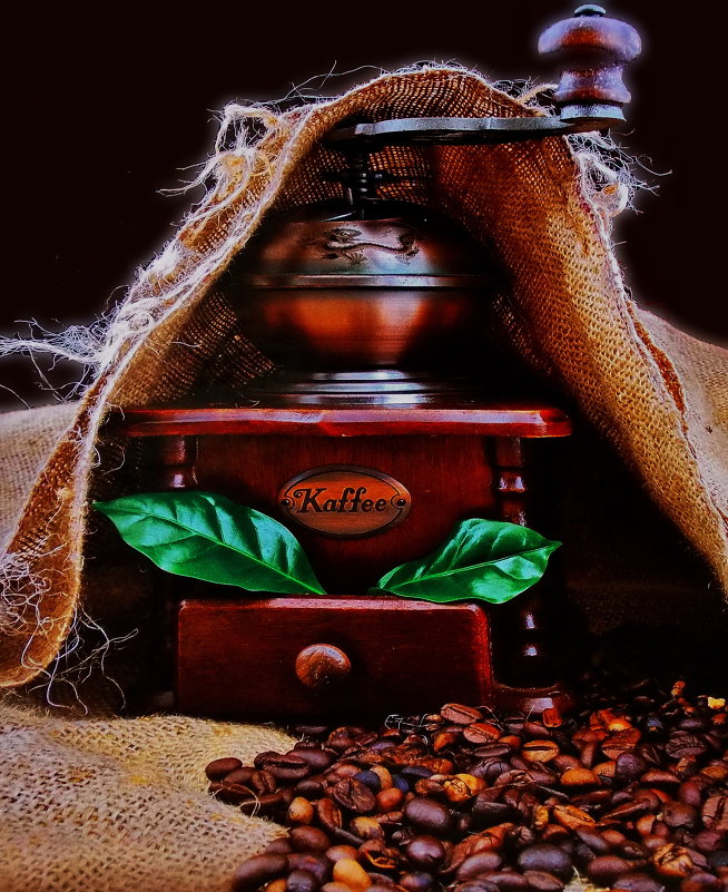 Приготовим кофе - *ALISA* .