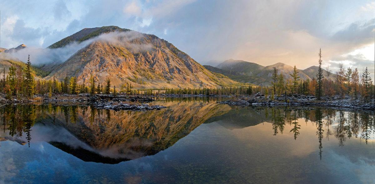 Утро в долине лавовых озер. - Страхова Татьяна