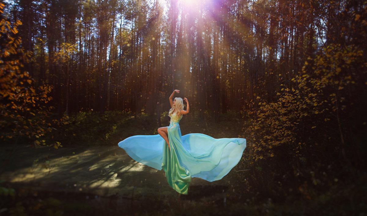 Лесная нимфа - Ирина Лежнева