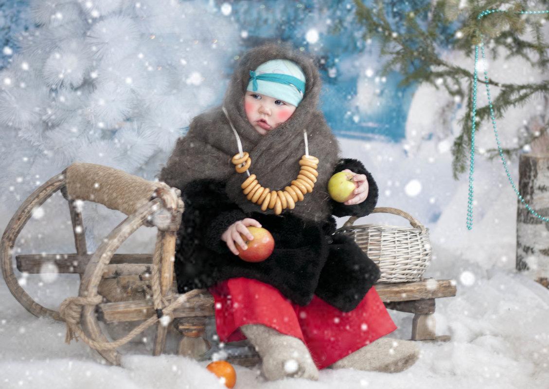Костюм марфуши из сказки морозко своими руками 59
