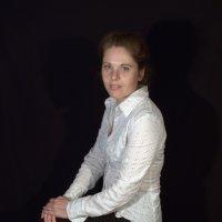 Белое на черном :: Роман Рыжиков