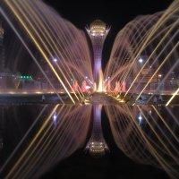 Танцующий фонтан в Астане :: Рустем Жансеитов