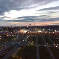Строительство Хан Шатыр в Астане :: Рустем Жансеитов