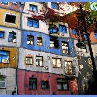 Цветной дом :: Надежда Кондратьева