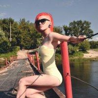 на мосту :: Маруся Федотова