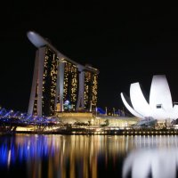 Отель Марина Бэй. Сингапур :: Виктория Лытова