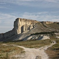 Ак-Кая - белая гора в Крыму :: Елена Юнес