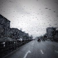 Дождливая Москва :: Фотошкола Елены Счастливой