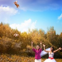 Свадебные голуби) :: Наталья Грачёва