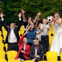 футбольная свадьба =)) :: Лена Лебедева