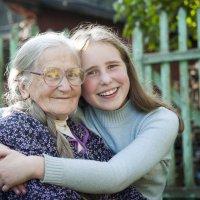 Любимая бабушка. :: Наташа Ромашова