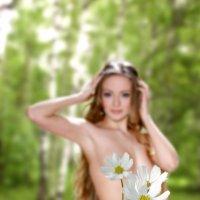То ли девушка, а то ли виденье... :: Сергей Михайлов