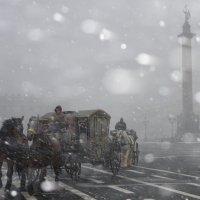 Метель на Дворцовой площади :: Vilyma Vilyma