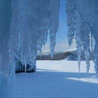 В зимнем царстве государстве Байкала. :: Любовь Лапардина