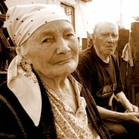 Дорогие мои старики :: Андрей Зенков