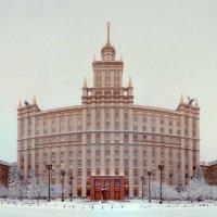 Первый день нового года в университете :: Антон Летов