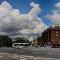 панорама Исаакиевской площади :: Владимир Колесников