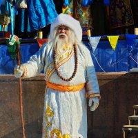 бурятский дед мороз Сагаан Убугун :: Геннадий Лосев