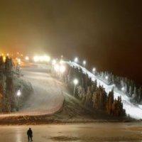 Новогодняя гора в Финской Руке (2) :: Valentin Orlov