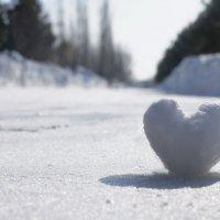 снежное сердце :: delete