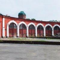 Локомотивное депо Барнаул :: Дмитрий Медведев