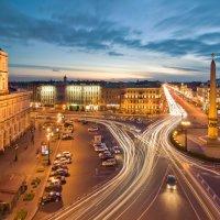 Площадь Восстания в последний день лета :: Ян Богомолов