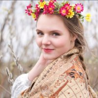 Русская красавица по весне вышла в лес :: Кристина Шпак