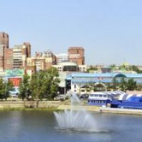 Челябинск- Набережная реки Миасс. :: Олег Якуба
