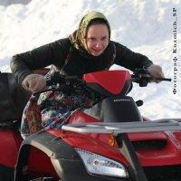 Зимние гонки! :: Вера Тимофеева