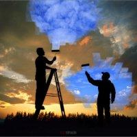Завтра будет новый день ( серия_Силуэты) :: Виктор Перякин