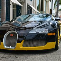 Bugatti Veyron in LA :: Элина Прицкер