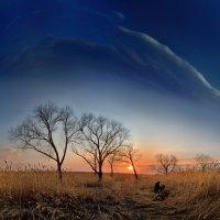 апрельский закат в средней полосе :: Антон Летов