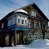 старые дома г. Тихвина :: Сергей Кочнев