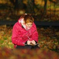 Девушка и осень :: Дмитрий Моркин