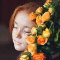 Портрет с розами :: Ольга Юсупова