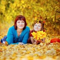 Теплая осень. :: Алла Мещерякова