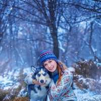 красота зимы... :: Iryna Crishtal