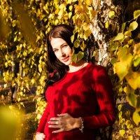 Будущая мамочка в красках осени! :: Анжела