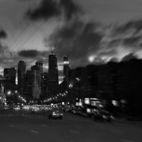 Ночная Москва :: Елизавета Митрофанова