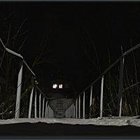 мостик в деревне. :: Юрий Ефимов
