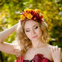 девушка осень :: владимир