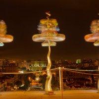 Ночная  фонтазия :: Сергей Бурлакин