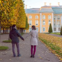 Золотая осень в Петергофе. :: Мария Собко
