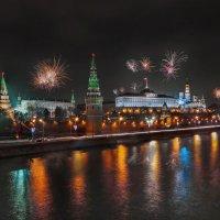 салют над кремлем :: юрий макаров