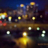 Ночной вид из окна :: Екатерина Жукова