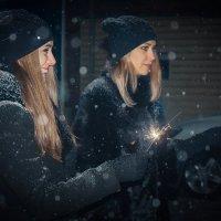 Чёрные снегурочки :: Александр Гиренко