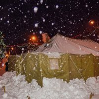 У леса на опушке, жила зима в палатке))) :: Ирина Антоновна